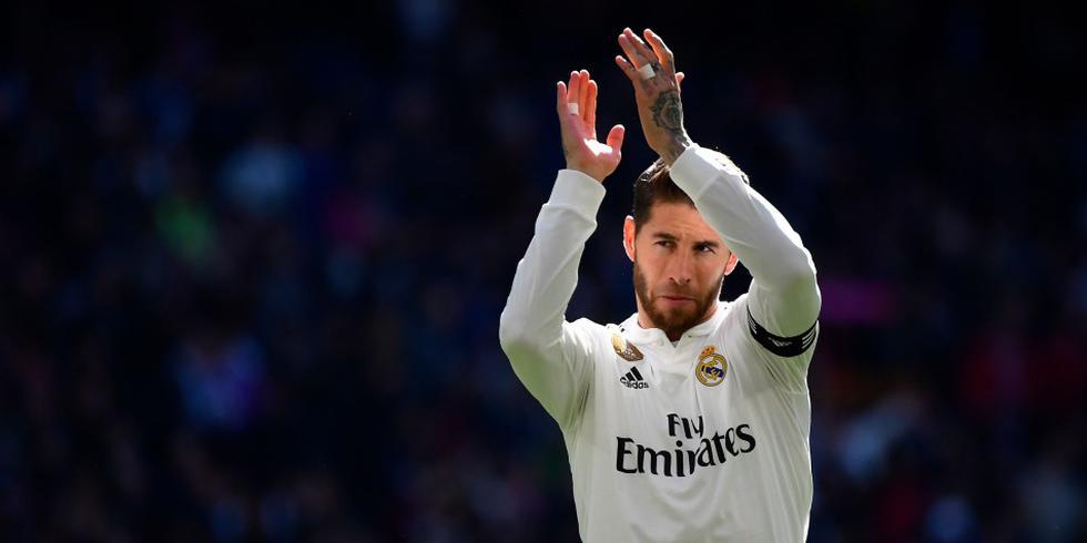 Sergio Ramos no va más como jugador del Real Madrid tras rechazar oferta de renovación. (Foto: AFP)