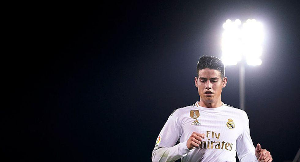 James Rodríguez se viene recuperando de un esguince en la rodilla. (Getty Images)