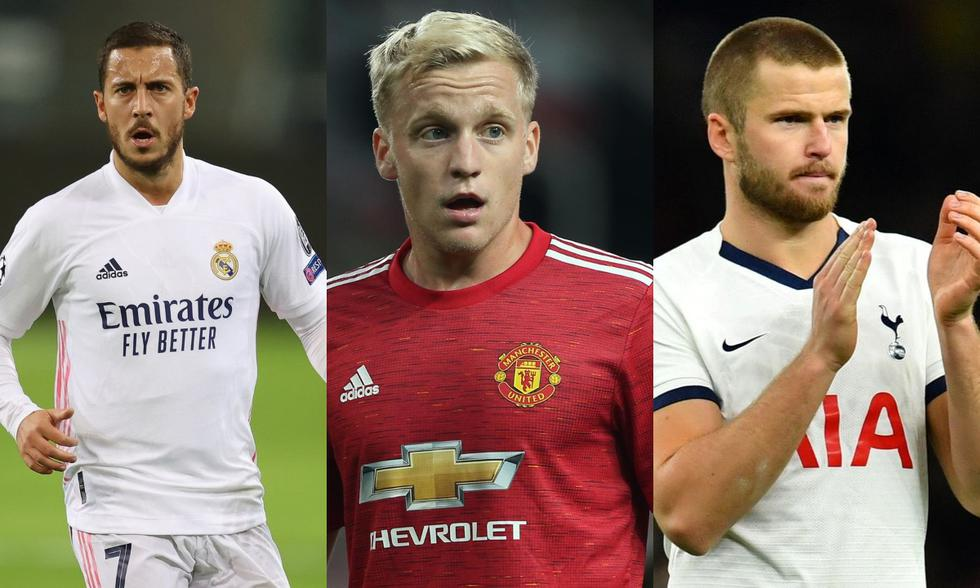 Hazard, Van de Beek y Dier son parte los jugadores que ha pedido Mourinho.