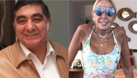 Carlos Bonavides, 'Huicho Domínguez', pide recaudar fondos para ayudar a Laura Bozzo. (Foto: @laurabozzo_of/ @carlosbonavidesoficial)