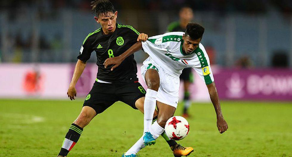 México vs. Irak por el Mundial Sub 17.