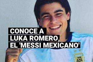 Conoce a Luka Romero, el 'Messi mexicano', que batió récord en LaLiga de España