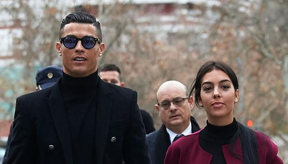 Cristiano y Georgina en Turín. (Foto: Getty Images)