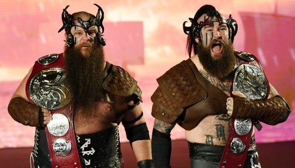 The Viking Raiders ganaron los títulos en parejas de Raw el 14 de octubre, cuando vencieron a Robert Roode y Dolph Ziggler. (Foto: WWE)