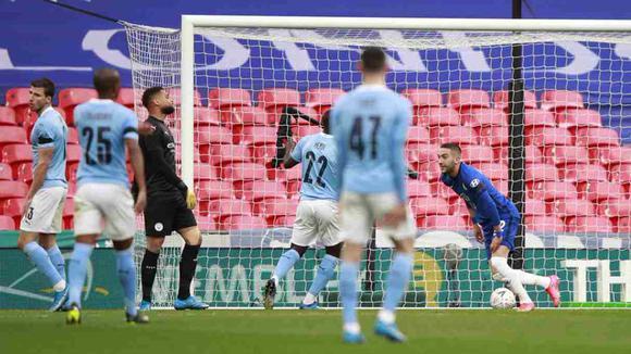 GOLES Manchester City vs. Chelsea EN VIVO: Ziyech anotó el 1-0 de los 'Blues' en la semifinal de la FA Cup | VIDEO | NCZD | FUTBOL-INTERNACIONAL | DEPOR