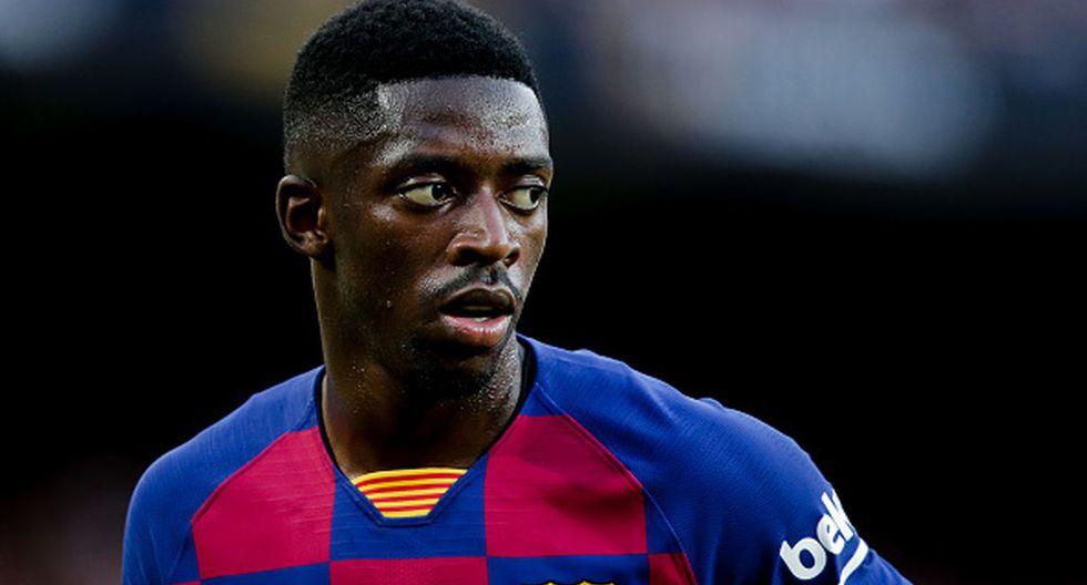 Con un 3-2-5, así sería el nuevo sistema del Barcelona | Dembélé. (Getty)