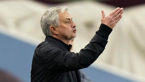 José Mourinho dejó Tottenham esta temporada tras malos resultados. (Foto: Reuters)