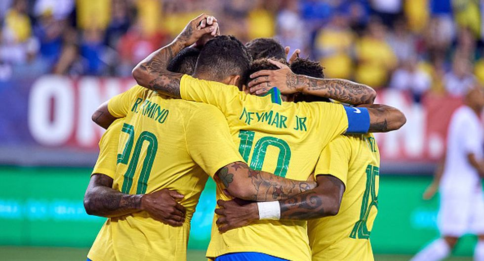 Brasil vs. Arabia Saudita juegan EN VIVO y EN DIRECTO por amistoso internacional. (Getty)