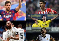 Lionel Messi toma distancia: así va la tabla de máximos goleadores de LaLiga Santander 2020 [FOTOS]