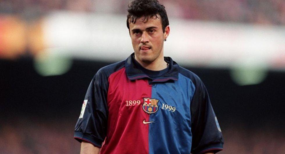 Luis Enrique dejó el Real Madrid por Barcelona. (Getty)