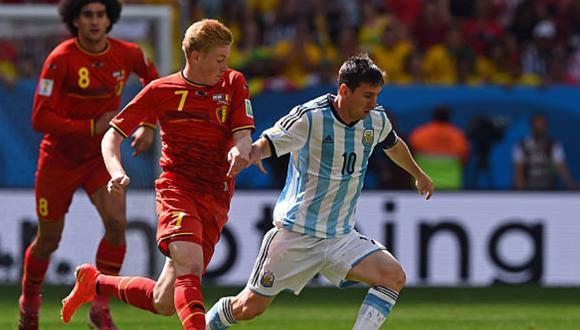 De Bruyne habló sobre la posible llegada de Lionel Messi al Barcelona. (Internet)