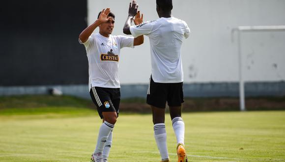 Irven Ávila estuvo desde el vamos y anotó el segundo en el triunfo celeste (Foto: Sporting Cristal)
