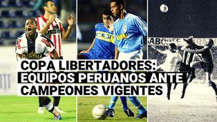 Copa Libertadores: Conoce cómo les fue a los equipos peruanos que enfrentaron al campeón vigente