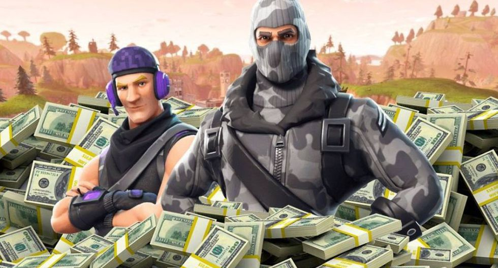 ¡Fortnite fue el juego más lucrativo del 2019! (Imagen: Epic Games)