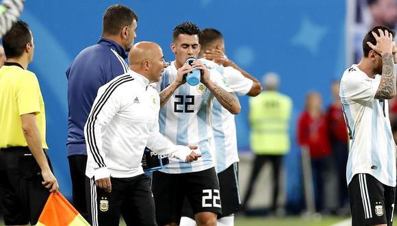 Jorge Sampoli llegó con Argentina hasta los octavos de final de Rusia 2018. (Foto: EFE)