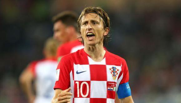 Luka Modric será el capitán de la Selección de Croacia en la Eurocopa 2021. (Foto: Getty Images)