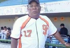 Entrenador de béisbol dirigió con síntomas de COVID-19 para no perder su empleo, pero terminó muriendo
