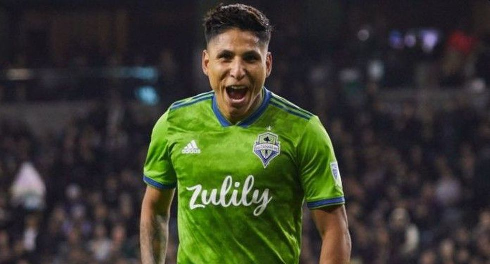 Raúl Ruidíaz (Seattle Sounders). (Foto: Seattle Sounders)