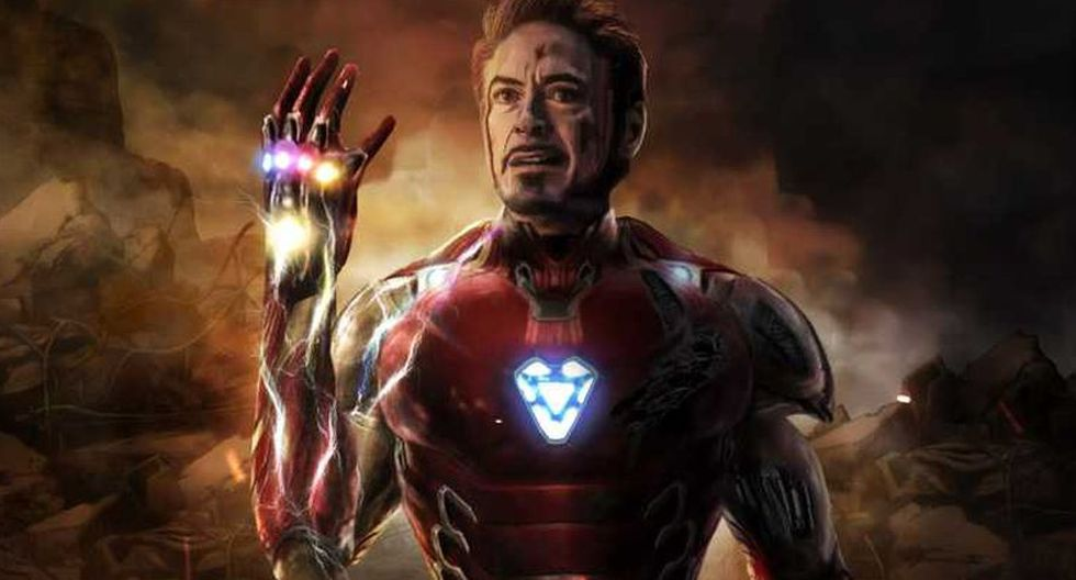 Iron Man con las Gemas del Infinito (Marvel)