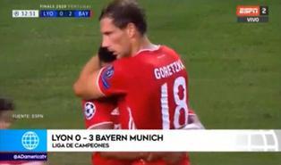 Bayern goleó 3-0 al Lyon y va por la final de Champions League