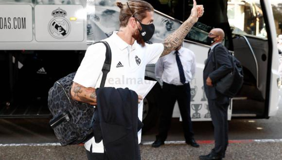 Los 'blancos' llegaron a San Sebastián por carretera tras avería en su avión. (Foto: Real Madrid)