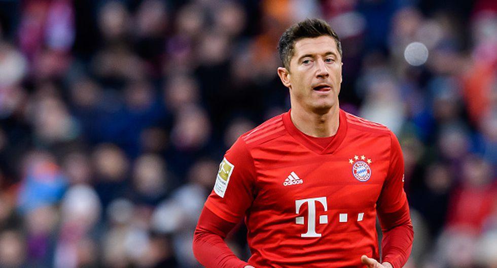 1. Robert Lewandowski - 54 goles en 57 partidos (Bayern de Múnich y Polonia) (Getty)