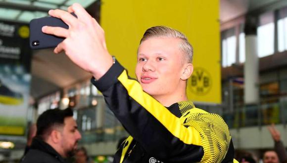 Borussia Dortmund tiene atado a Haaland hasta el 2024. (Foto: Imago)