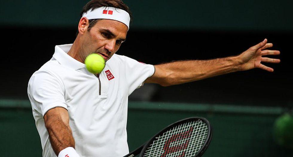 Roger Federer busca su 21º título de Grand Slam en Wimbledon 2019. (Getty Images)