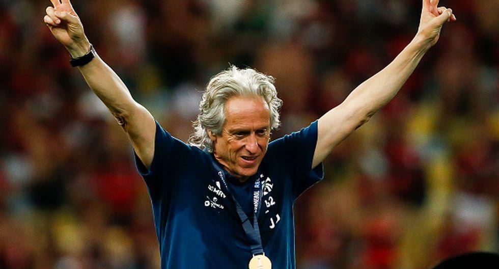 Jorge Jesus ganó todo con el Flamengo la temporada pasada. (Foto: Getty Images)