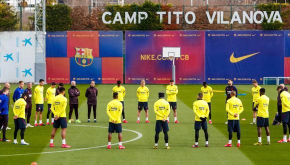 Kobe Bryant queda en el recuerdo de todos los jugadores del Barcelona. (Foto: FCB Twitter)