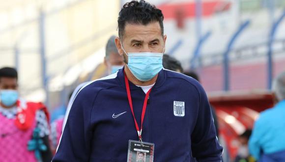 Daniel Ahmed dirigió a Alianza Lima en 2020. (Foto: Liga 1)