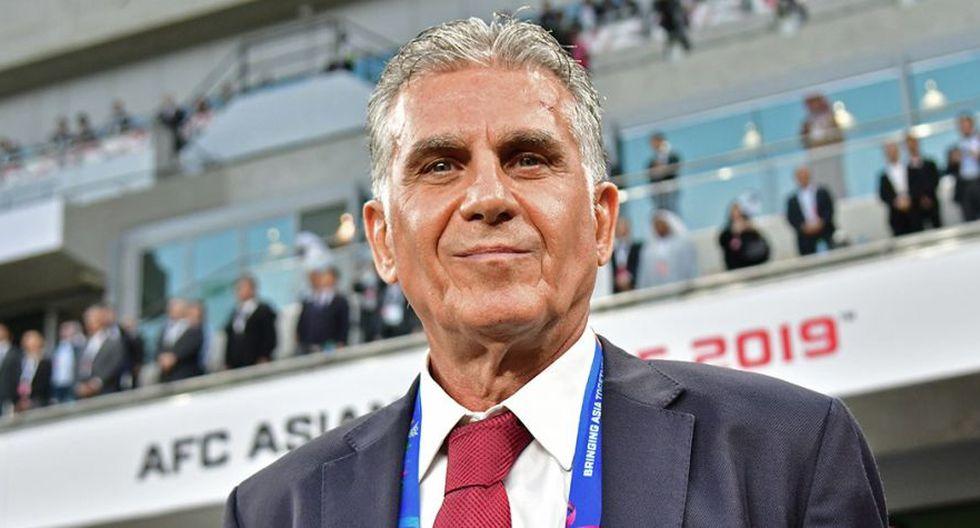 Carlos Queiroz ha dirigido a nivel de selecciones a Irán, Portugal y