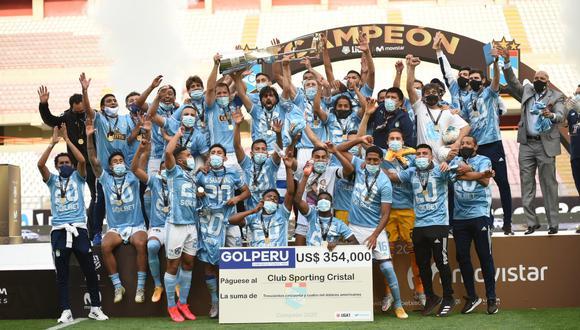 Sporting Cristal sumó su quintó título en nueve años. (Foto: S.Cristal)