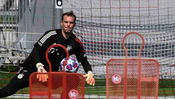 Manuel Neuer se solidarizó con Marc-André ter Stegen. (Foto: EFE)
