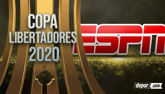 ESPN EN VIVO: partidos de fase de grupos de Copa Libertadores 2020 por INTERNET