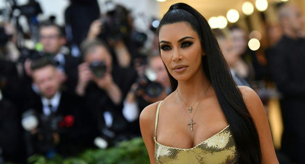 Kim Kardashian subió unas fotos de su hija, a quien calificó como la mejor 'fashionista'. (Foto: AFP)