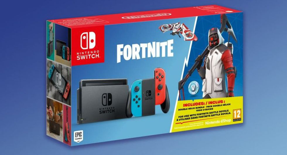 Nintendo Switch edición Fortnite (Nintendo)