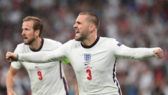 Luke Shaw fue uno de los protagonista de la Selección de Inglaterra en la Eurocopa 2020. (Foto: Getty Images)