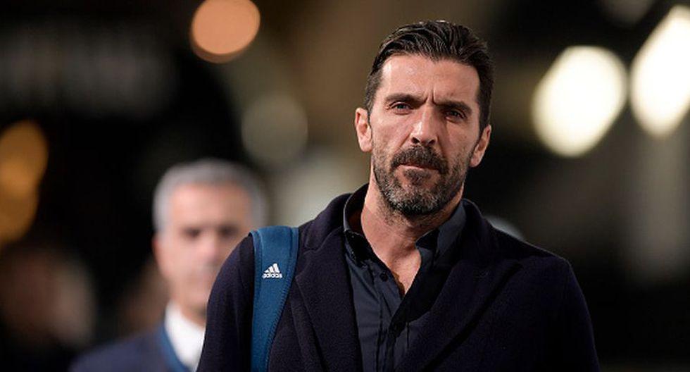 Buffon, de 41 años, no seguirá en el PSG tras una temporada en el club de París (Getty)