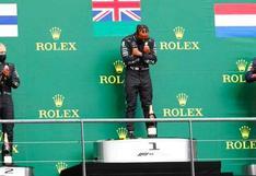 'Wakanda Forever': Lewis Hamilton gana el GP de Bélgica y dedica su triunfo a Chadwick Boseman