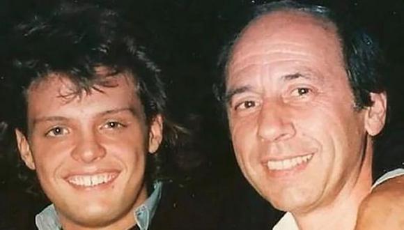 Hugo López, representante de Luis Miguel, falleció en diciembre de 1993 a causa de cáncer de colon. (Foto: Twitter)