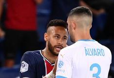 """""""Te olvidaste de cómo ganar títulos"""": la fuerte pelea de Neymar con Álvaro tras el PSG vs. Marsella"""