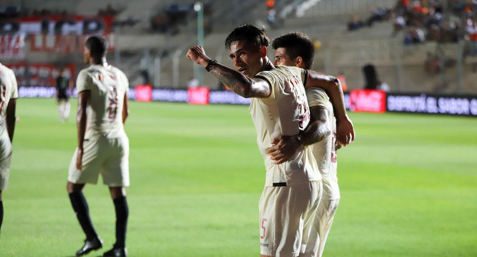 Jonathan Dos Santos anotó el primer gol del duelo (Prensa Universitario)