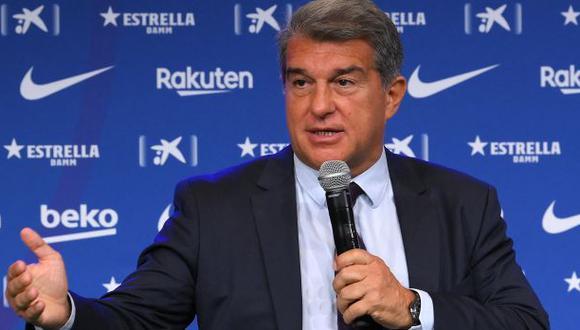 Joan Laporta fue elegido presidente del FC Barcelona en marzo pasado. (Foto: AFP)