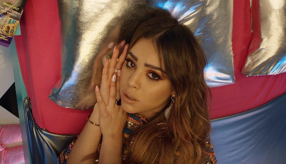 """YouTube: Danna Paola estrena la versión remix de su tema """"Mala Fama"""" al lado de Greeicy. (Foto: Captura de YouTube)"""