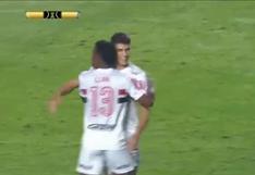 ¡En menos de 10 minutos! Bueno abrió el marcador en el Sao Paulo vs. Binacional