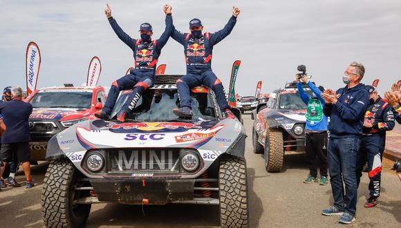 Stéphane Peterhansel se consagró campeón en el Rally Dakar 2021 y amplió su récord a 14 títulos  (Foto: EFE)