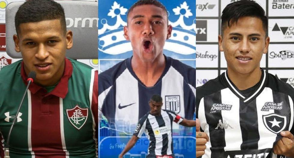 Peruanos que cambiaron de club en 2020. (Foto: Internet / Agencias)