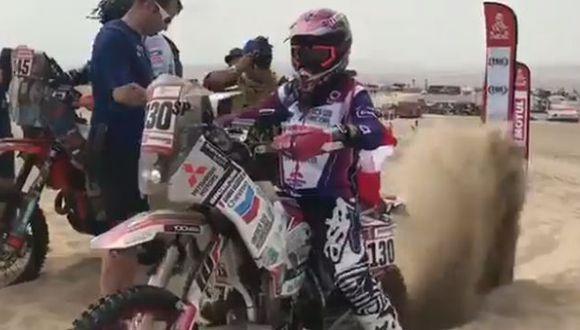 Gianna Velarde participar por primera vez en el Dakar 2019. (Captura: @dakar)