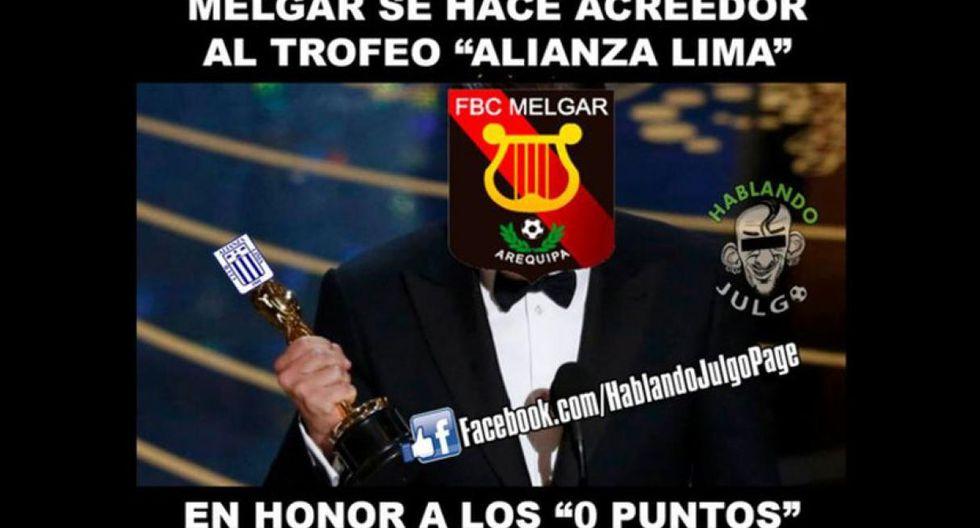 Los divertidos memes que dejó la eliminación del cuadro arequipeño en la Copa Sudamericana (Foto: internet)